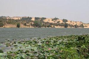 'Ảo ảnh' giữa sa mạc Bình Thuận