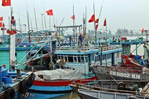 Thiếu lao động tàu cá nằm bờ