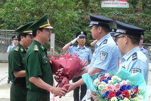 BĐBP Cao Bằng, Hà Giang giao ban định kỳ quý I-2019 với Chi đội quản lý biên giới Bách Sắc