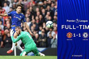 Manchester United 1-1 Chelsea: Tội đồ David De Gea