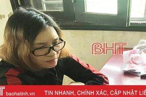 Bắt đối tượng nữ từ Nghệ An vào hành nghề 'hai ngón' tại chợ Hà Tĩnh