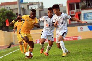 Sài Gòn FC đánh bại SHB Đà Nẵng trong trận cầu Đức Chinh 'mất hút'