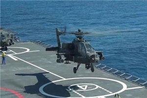 Trực thăng AH-64 thế chỗ Ka-52 trên tàu đổ bộ Mistral