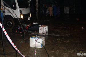 Phê chuẩn khởi tố một công nhân điện vụ điện giật chết người đi xe máy