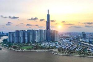 Ngắm toàn cảnh TP.HCM từ tòa nhà cao nhất Việt Nam