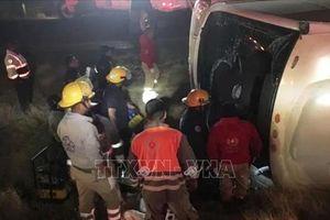 Mexico: Tai nạn xe khách thảm khốc, gân 40 người thương vong
