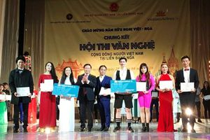 Sôi nổi hoạt động văn nghệ cộng đồng chào mừng Năm Hữu nghị Việt Nam – Liên bang Nga