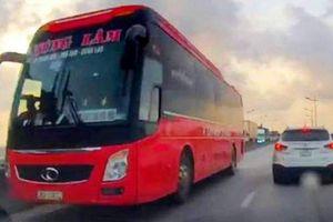 Truy tìm xe khách Thanh Hóa đi ngược chiều trên QL1A