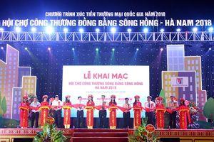 260 gian hàng tham gia Hội chợ Công Thương vùng Đồng bằng sông Hồng - Ninh Bình 2019