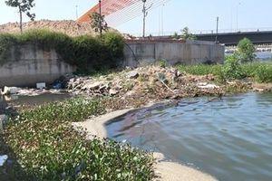 Lấy mẫu nước ô nhiễm ở khu vực sông Hàn để xét nghiệm