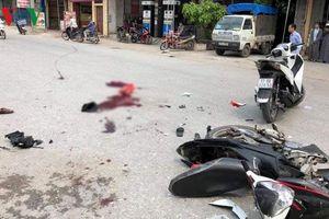 Va chạm với xe máy tham gia rước dâu, 2 bố con tử vong ở Thái Bình