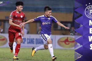 Clip: Pha xử lý 'siêu dị' của Quang Hải ở trận Hà Nội FC 1-0 TP.HCM