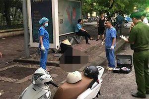 Hà Nội: Kinh hãi phát hiện người đàn ông tử vong ở bến xe buýt