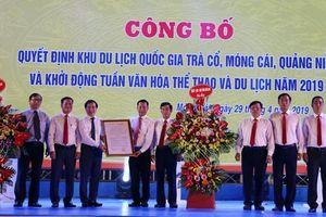 Quảng Ninh: Công bố quyết định công nhận Khu du lịch quốc gia Trà Cổ