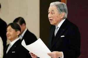 Toàn văn bài phát biểu của Nhật Hoàng khi thoái vị