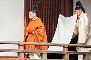 Nhật hoàng Akihito tuyên bố thoái vị, cảm ơn sự ủng hộ của người dân