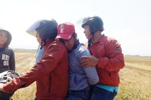 Phú Yên: Dân ùa ra ruộng truy bắt đối tượng cướp tiệm vàng