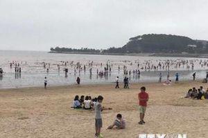 Hải Phòng: Hơn 200.000 du khách đến với Đồ Sơn trong 3 ngày nghỉ lễ