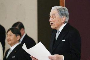 Chùm ảnh đáng nhớ ghi lại lễ thoái vị của Nhật hoàng
