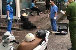 Người đàn ông tử vong tại nhà chờ xe buýt trước cổng Công viên