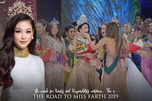 Hoa hậu Trái đất Phương Khánh bắt đầu hành trình tìm kiếm người kế nhiệm