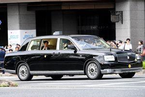 Tân Nhật hoàng sử dụng chiếc limousine gì trong lễ đăng quang?