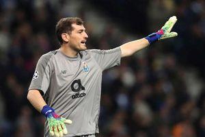 Thủ môn Iker Casillas nhập viện khẩn cấp vì cơn đau tim