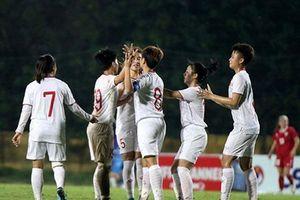 U19 nữ Việt Nam giành vé vào vòng chung kết U19 nữ châu Á 2019