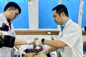 Tăng ca chấn thương nặng, đa chấn thương nhập viện dịp nghỉ lễ