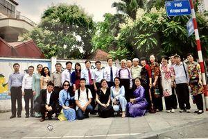 Gắn tên biển phố mang tên Bộ trưởng Bộ Tư pháp đầu tiên ở Hà Nội
