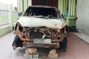 Thanh Hóa: Cựu Bí thư đoàn xã ra đầu thú vì đốt xe Innova của người dân