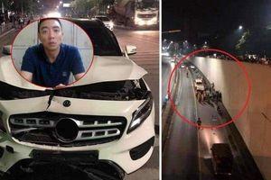 Tài xế Mercedes gây tai nạn thảm khốc ở hầm Kim Liên có thể chịu mức án 10 năm tù