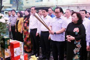 Dâng hương tưởng niệm 115 năm ngày sinh Tổng Bí thư Trần Phú