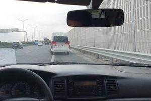 Nguy cơ TNGT khi đỗ, chạy xe vào làn dừng khẩn cấp đường cao tốc sai quy định