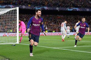 Messi thăng hoa, Barcelona 'vùi dập' Liverpool
