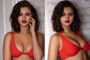 Selena Gomez làm người mẫu áo tắm