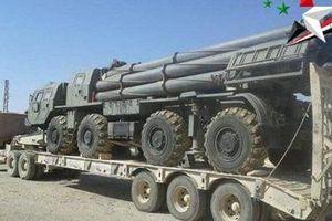 Quân đội Syria dồn tên lửa, pháo hạng nặng tới sát Idlib