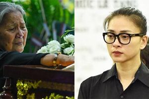 Nhiều nghệ sĩ bật khóc trong đám tang diễn viên Lê Bình