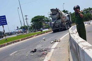 Đà Nẵng: Va chạm với xe bồn trên cầu vượt, 2 phụ nữ bị thương nghiêm trọng