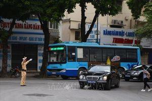 Phân luồng giao thông TP Hồ Chí Minh phục vụ Quốc tang nguyên Chủ tịch nước Lê Đức Anh