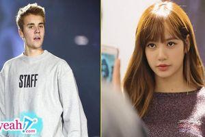 Bị netizen Hàn 'kì thị' ra mặt, nhưng Lisa lại là idol được nhiều ngôi sao US-UK theo dõi nhất và mới đây là Justin Bieber