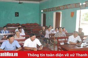 Huyện Cẩm Thủy tăng cường kiểm tra đảng viên khi có dấu hiệu vi phạm