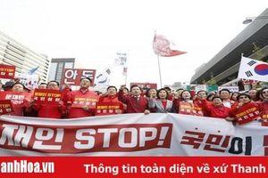Hàn Quốc: 4 nghị sỹ đối lập cắt tóc phản đối các dự luật cải cách