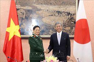 Đưa hợp tác quốc phòng Việt Nam - Nhật Bản đi vào chiều sâu, hiệu quả