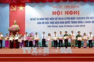 Nhiều kết quả tích cực sau 3 năm thực hiện Chỉ thị 05 tại tỉnh Tiền Giang