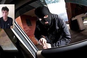 Bắt giam đối tượng chuyên 'ăn' tài sản trong xe ô tô