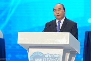 Thủ tướng: Kiến tạo không gian, cơ hội để kinh tế tư nhân phát triển