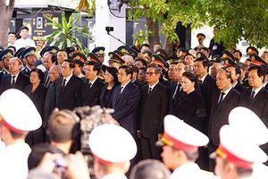 Lễ an táng Đại tướng, nguyên Chủ tịch nước Lê Đức Anh