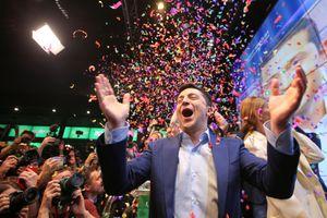 Tổng thống đắc cử Ukraina, Volodymyr Zelensky: Danh hài không giỡn chơi