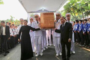 Lễ an táng Đại tướng Lê Đức Anh tại TP.HCM